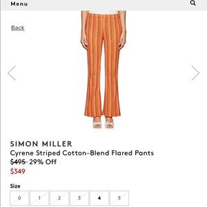 Simon Miller Tops - Simon Miller Cyren Tunic & Pants set